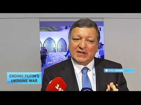 'The idea of some people in Kremlin is to show Ukraine's a failed state' - Barroso