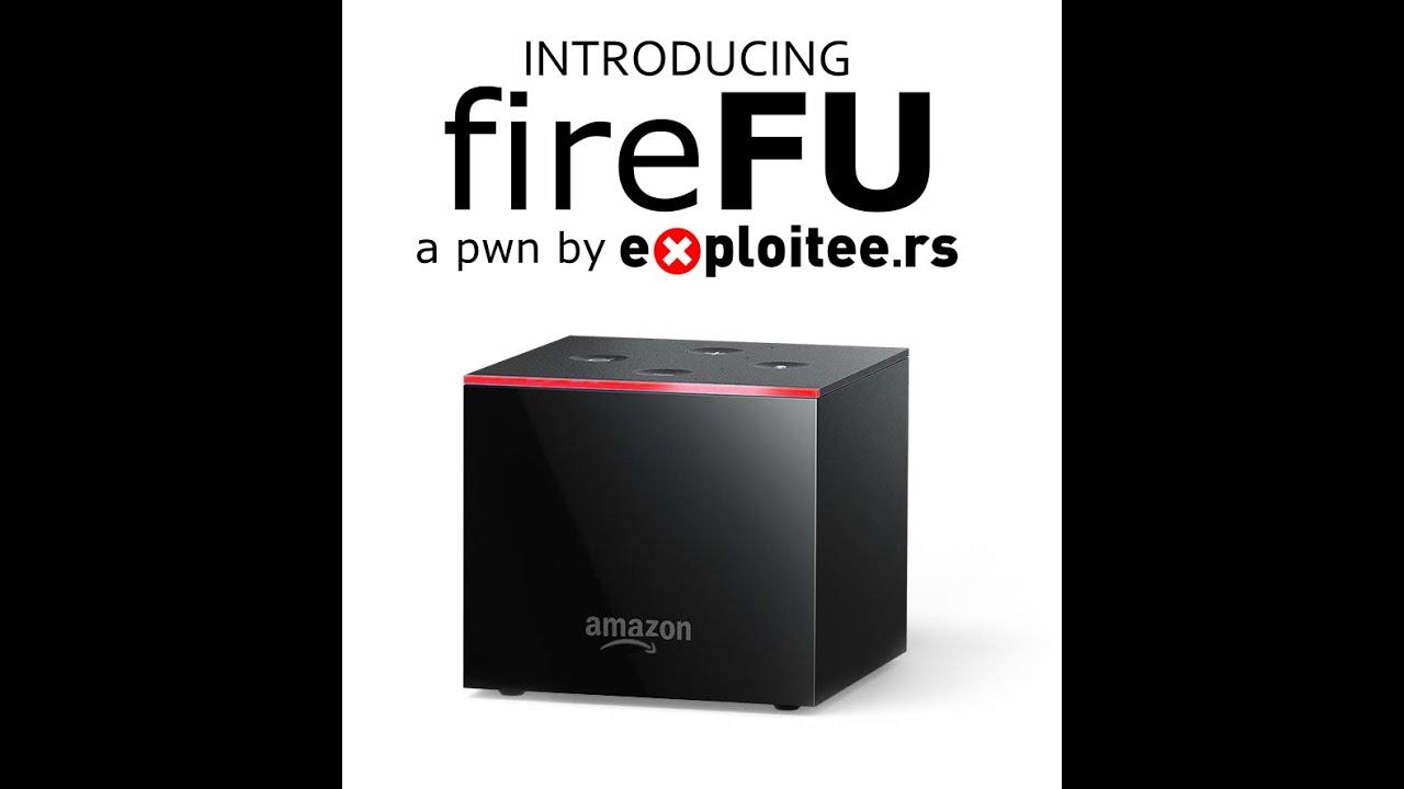 FireFU - Getting Root On The FireTV Cube and FireTV Pendant