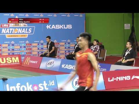 LIMA Badminton Nasional 2015 : UPI vs UNIKOM (Men's)