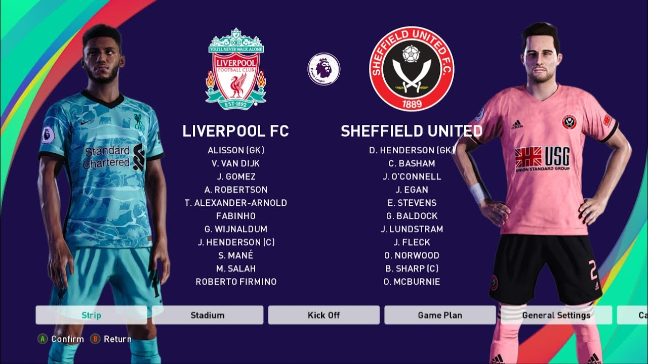 PES 2021 | Liverpool vs Sheffield United - Premier League 20/21 Season - Full Match & Gameplay