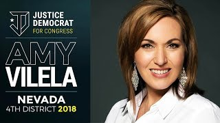 Justice Democrat Amy Vilela Introduces Workplace Democracy Act thumbnail