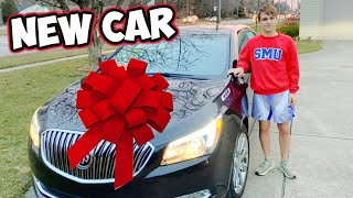 SURPRISING OUR SON WITH A NEW CAR!