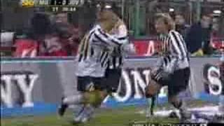 vuclip Di Vaio Milan-Juventus 2003-04