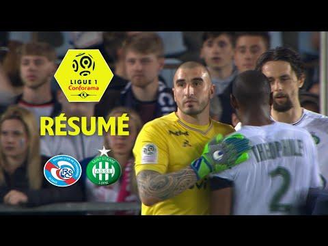RC Strasbourg Alsace - AS Saint-Etienne ( 0-1 ) - Résumé - (RCSA - ASSE) / 2017-18