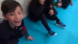 Kung Fu Kids - Long Jump Challenge