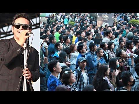 पहिलो पटक यस्तो देखियो | Raju Lama Live Concert 2018 Kathmandu Nepal