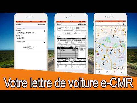 L'e-CMR connecté à votre TMS