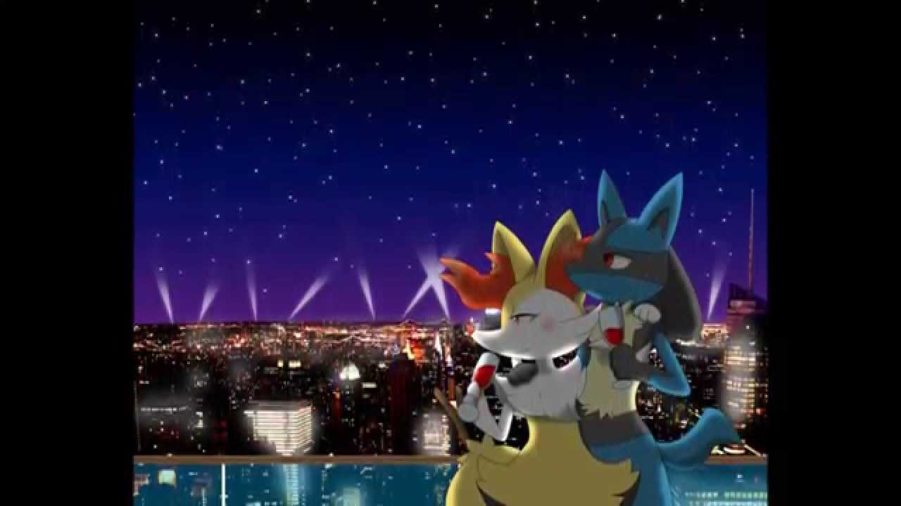 lucario and braixen your love is my drug youtube