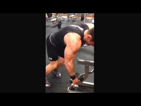 Back Tricks: limited grip; squeeze the muscle   Rear deltoid, teres major and minor