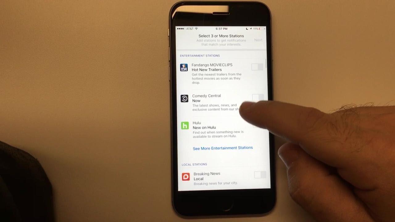 Facebook Notify App Demo