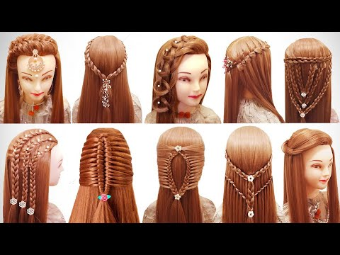 top-10-braids-hairstyle-compilation-|-wedding-hairstyle-|-easy-hairstyle-l-braid-styles-for-women