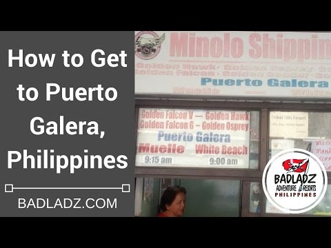 How to Get to Puerto Galera, Philippines: It's Easy!