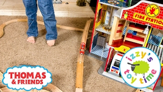 Thomas and Friends | Thomas Train and the KidKraft Fire Station with Brio | Fun Toy Trains for Kids