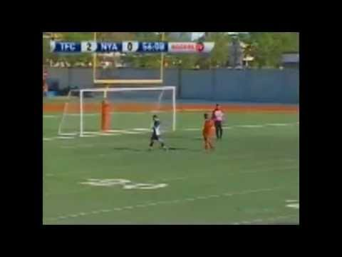 Allando Matheson || vs. North York Astros || CSL 2010 || Hat-Trick