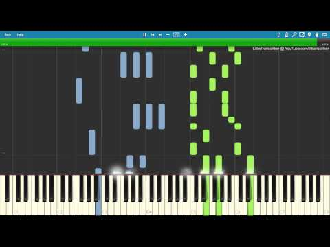 Clean Bandit - Rockabye (Piano Cover) Ft. Sean Paul & Anne-Marie By LittleTranscriber