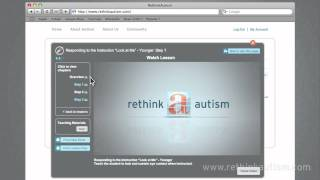 Virtual Tour of Rethink Autism's Innovative Features and Tools