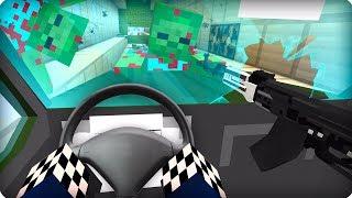 Застрял в тоннеле [ЧАСТЬ 24] Зомби апокалипсис в майнкрафт! - (Minecraft - Сериал)