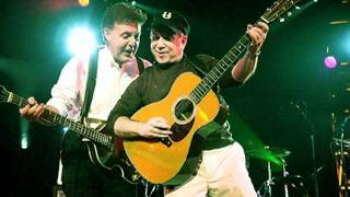 Paul McCartney & Paul Simon - I've Just Seen A Face. Adopt-A-Minefi...