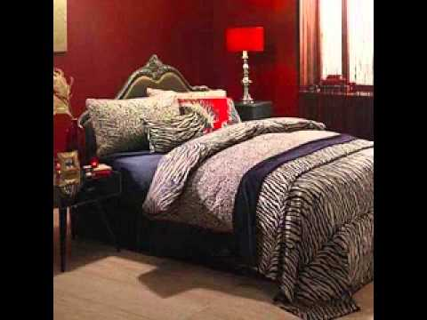 Leopard print bedroom decor ideas - YouTube