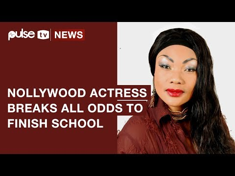Eucharia Anunobi Says She Finished School Despite the Death of Her Son | Pulse TV