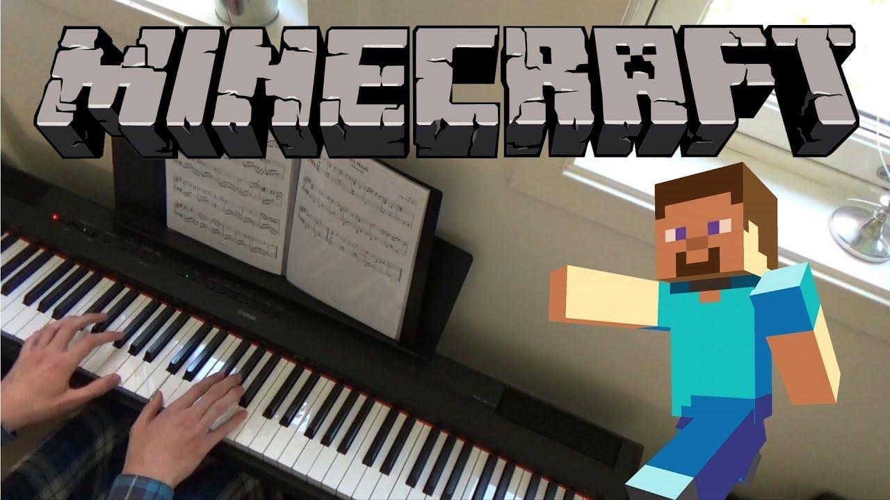 Minecraft Piano Sheet Music Roblox Dry Hands Minecraft Piano Cover Sheets Midi Youtube