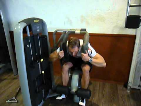exercice de musculation abdos haut machine abdos youtube. Black Bedroom Furniture Sets. Home Design Ideas