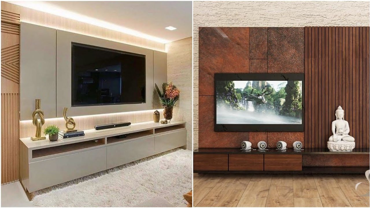 20 Modern TV cabinets designs Living room wall decorating ideas ...