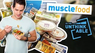 I did the Muscle Food DO THE UNTHINKABLE plan for 5 days - Here's how it went!