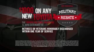 Toyota Salutes the Military January 2016