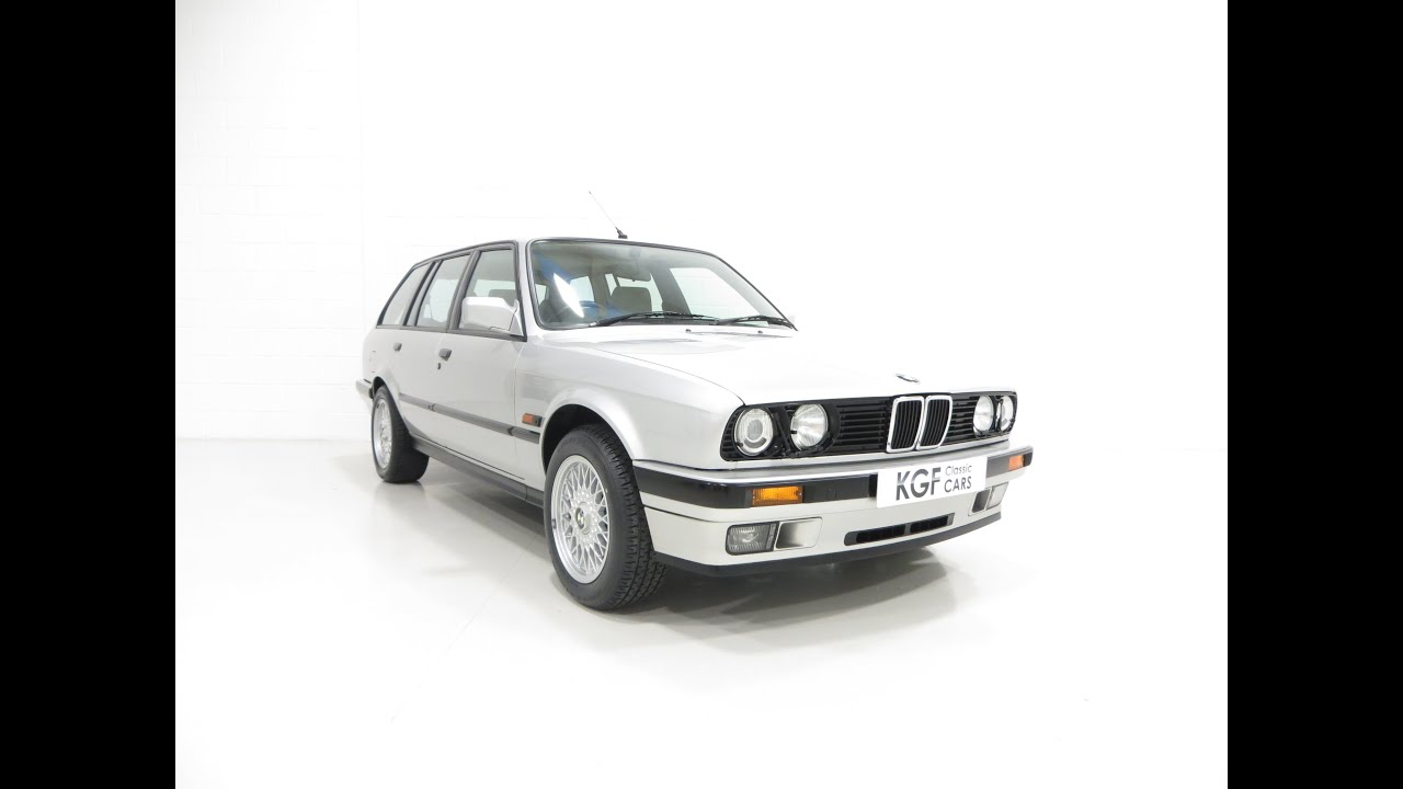 quite possibly the best bmw e30 325i touring with one owner and