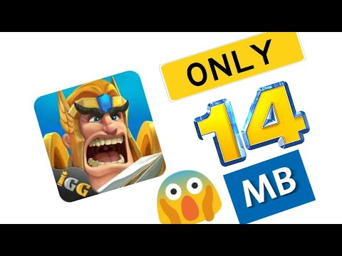 How To Download Lords Mobile In Only 14mb