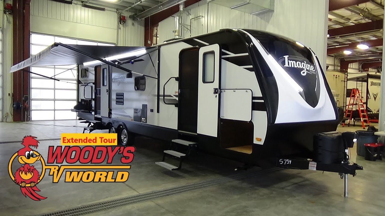Woodys Rv World >> 2019 Grand Design RV Imagine 3000QB Travel Trailer Bunk House - Extended Tour - YouTube