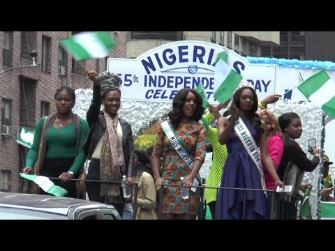 Nigerian day parade