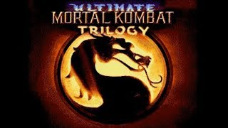 Ultimate Mortal Kombat Trilogy (Genesis) - Longplay as MKII Noob Saibot