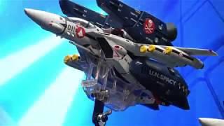 DX超合金 劇場版 VF-1A バルキリー(一条輝機、柿崎速雄機、マクシミリアン・ジーナス機)、VF-1対応ミサイルセット、劇場版 VF-1対応ストライク/ スーパーパーツセット