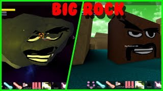 ROBLOX| DBZ FINAL STAND| HOW TO BEAT BIG ROCK IN 1-2 MINS