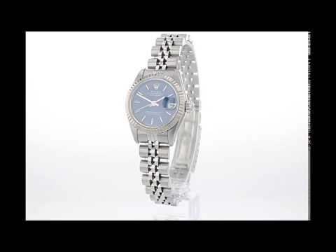 ROLEX Pre Owned Watch Datejust Ref 69174