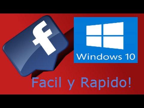 descargar facebook pc windows 8.1
