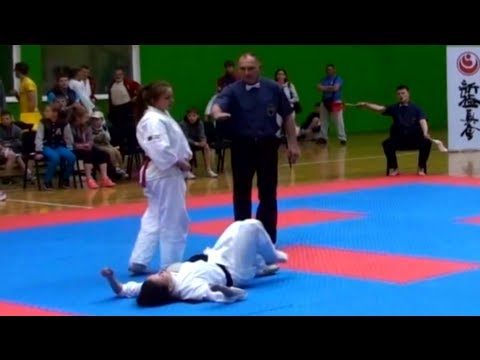 Best Karate Knockout Ever