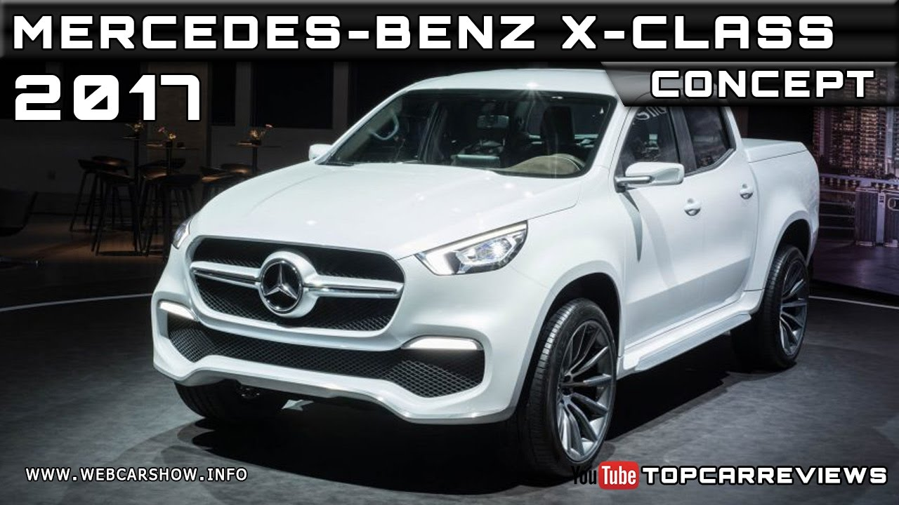 2017 mercedes benz x class concept review rendered price for Mercedes benz x class price