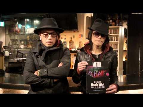 MERRY『NOnsenSe MARkeT』リリース!-激ロック 動画メッセージ