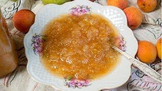 Варенье из груш и абрикос