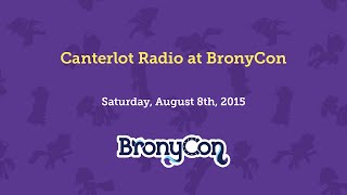 Canterlot Radio at BronyCon