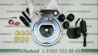 видео Обзор и описание робота-пылесоса Irobot Roomba 555