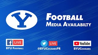 BYU Football - Media Availability - September 9, 2019