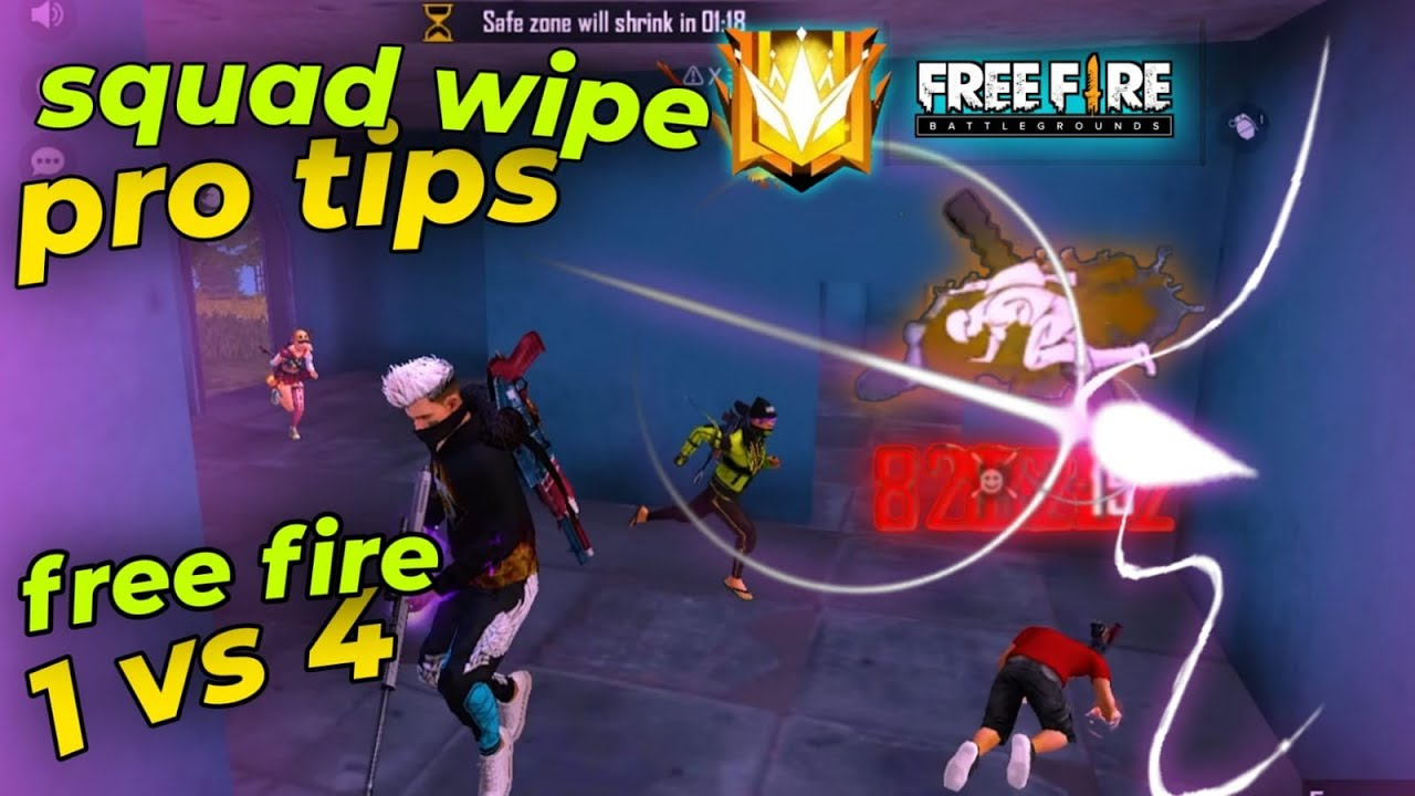 #freefire #fasilpachu BEST TIPS AND TRICKS FOR SOLO VS SQUAD🔥 /Fasil Pachu/