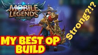 Mobile Legends My MOST OP Build for Yi Sun Shin