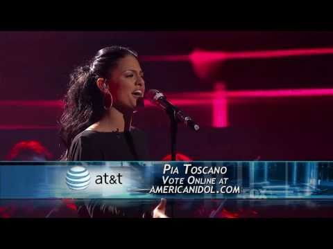 Pia Toscano  All in Love Is Fair  American Idol Top 11  032311