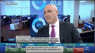 Genel Müdürümüz Sayın Osman ARSLAN'ın Bloomberg HT Özel Röportajı!