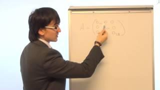 Математика  Лекция 1  Матрица